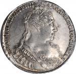 RUSSIA. Ruble, 1734. Kadashevsky Mint. Anna (1730-40). NGC AU-58.