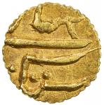 SIKH EMPIRE: AV rupee (1/15 mohur) (0.65g), Multan, VS1905, KM-87, Herrli-11.09.04, struck by Diwan