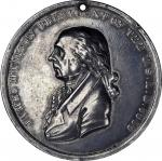 1809 James Madison Indian Peace Medal. Third Size. Julian IP-7, Prucha-40. Silver. Extremely Fine.