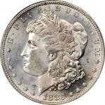 1883-S Morgan Silver Dollar. MS-64 (PCGS).