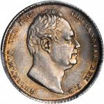 GREAT BRITAIN. 6 Pence, 1835. PCGS MS-65 Secure Holder.