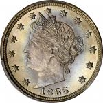 1883 Liberty Head Nickel. No CENTS. MS-67+ (PCGS). CAC.