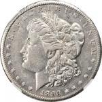 1893-CC Morgan Silver Dollar. AU-53 (NGC).