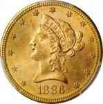 1886-S Liberty Head Eagle. MS-63 (PCGS).