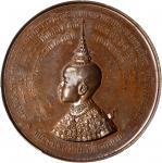1888年皇储Maha Vajiravudh纪念铜章。
