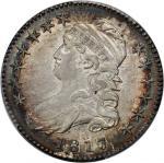 1817/3 Capped Bust Half Dollar. O-101a. Rarity-2. AU-50 (PCGS).