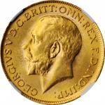 SOUTH AFRICA. Sovereign, 1927-SA. Pretoria Mint. NGC MS-63.