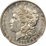 1893-S Morgan Silver Dollar. AU-53 (NGC).