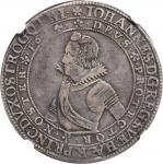 SWEDEN. 4 Mark, 1614. Vadstena Mint. Johan, Duke of Ostergotland (1606-18). NGC VF-35.