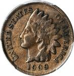 1909-S Indian Cent. VF-20 (PCGS).