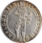 BOHEMIA. Taler, 1624. Joachimsthal Mint. Ferdinand II. PCGS AU-58 Gold Shield.