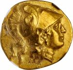 MACEDON. Kingdom of Macedon. Philip III, 323-317 B.C. AV Stater (8.57 gms), Sidon Mint, dated RY 13