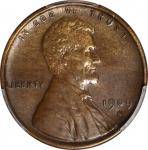 1909-S Lincoln Cent. V.D.B. AU Details--Cleaned (PCGS).