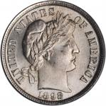 1898 Barber Dime. MS-65+ (PCGS). CAC.