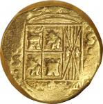 COLOMBIA. 4 Escudos, 1755-S. Bogota Mint. Ferdinand VI. NGC VF-30.