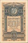 AUSTRIA. K.K. Reichs-Central-Cassa. 1 Gulden, 1.1.1882. P-A153. About Uncirculated.