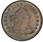 1805 Draped Bust Dime. John Reich-2. Rarity-2. Mint State-67 (PCGS).  PCGS Population: 3, none
