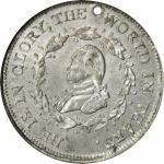 1799 (1800) Washington Funeral Urn Medal. White Metal. 30 mm. Musante GW-70E, Fuld Dies 4-D, Baker-1