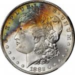 1882-CC Morgan Silver Dollar. MS-67 (NGC).
