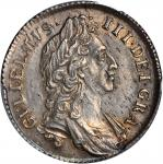 GREAT BRITAIN. Shilling, 1696. William III (1694-1702). PCGS Genuine--Cleaning, Unc Details Secure H