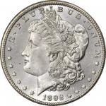 1892-CC Morgan Silver Dollar. MS-66 (NGC).