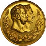 RUSSIA. Public Education Ministry Gold Medal, 1872. NGC MEDAL MS-62.