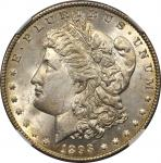 1893-O Morgan Silver Dollar. MS-64 (NGC).