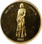 TONGA. Koula, 1962. PCGS PROOF-63 Gold Shield.