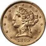 1895年5美元。