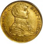 PERU. 8 Escudos, 1810-LM JP. Lima Mint. Ferdinand VII. NGC AU-58.