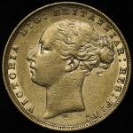 GREAT BRITAIN Victoria ヴィクトリア(1837~1901) Sovereign 1876 VF