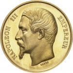 FRANCE Second Empire / Napoléon III (1852-1870). Médaille d'Or, Imprimerie impériale [1863], Paris.
