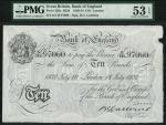 Bank of England, Basil Gage Catterns (1929-1934), 」10, London 18 July 1932, serial number K/110 9706