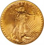 1914-S Saint-Gaudens Double Eagle. MS-65 (PCGS).