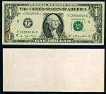 14060   美国1977年壹圆纸币一枚