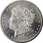 1879-CC GSA Morgan Silver Dollar. Clear CC. MS-62 (NGC).