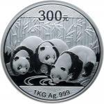 2013年熊猫纪念银币1公斤 NGC PF 69