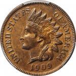 1909-S Indian Cent. Unc Details--Questionable Color (PCGS).