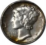 1936 Mercury Dime. Proof-67 (PCGS). CAC.