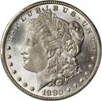 1880/79-CC Morgan Silver Dollar. Top 100 Variety. Reverse of 1878. MS-66 (PCGS).