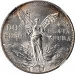 MEXICO. 2 Pesos, 1921-Mo. Mexico City Mint. NGC MS-65.