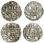 Cooch Behar, Dhaiyendra Narayan (1765-70, 1775-83), Half-Rupee, 4.63g, Dharendra/ Harendra Narayan (