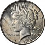 1934-S Peace Silver Dollar. MS-63 (PCGS).