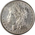 1899-O Morgan Silver Dollar. VAM-6. Top 100 Variety. Micro O. MS-60 (ANACS).