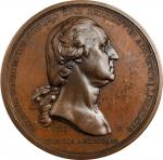 "Washington Before Boston medal. Third Paris Mint issue. First Issued ""Original"" Obverse / Second Iss"