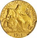 1915-S Panama-Pacific Exposition Quarter Eagle. Unc Details--Cleaned (PCGS).
