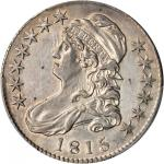 1815/2 Capped Bust Half Dollar. O-101. Rarity-2. AU Details--Cleaning (PCGS).