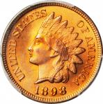 1898 Indian Cent. MS-66+ RD (PCGS).