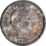 1901-S Barber Dime. MS-66 (PCGS). CAC.