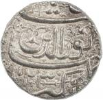 India - Mughal Empire. MUGHAL: Jahangir, 1605-1628, AR rupee, Ahmadabad, AH1023 month of Di, KM-149.